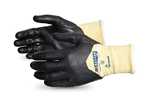 SKFGFNFB Superior® Dexterity® Composite Cut Resistant Work Glove with 3/4 Foam Nitrile Coating