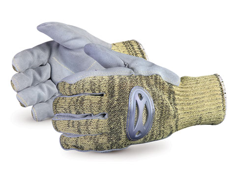 Superior Glove® Action™ Kevlar®/Wire-Core™ Glove with Steel-Mesh Liner #SKSMLP
