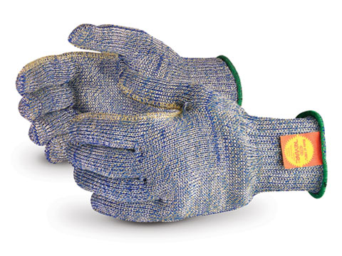 SKWCPT Superior® Emerald CX™ Kevlar/Stainless-Steel Metal Stampers Cut Resistant Work Glove