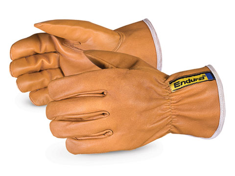 Superior Glove® Endura® WaterStop/Oilbloc™ Goat-grain Drivers Glove with Thinsulate™ Lining