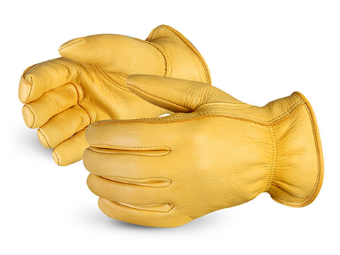 Superior Glove® Endura® Deluxe Thinsulate™ Lined Deerskin Leather Gloves #378GDFTL
