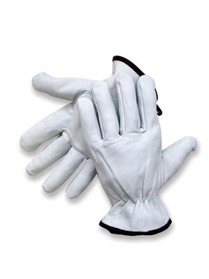Premium Goatskin Unlined Drivers Gloves, MDS Economy Premium Goatskin Leather Driver's Work Gloves