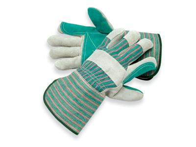 Shoulder Grade Split Leather Palm Gloves