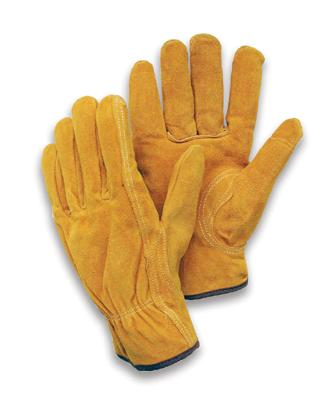 Unlined premium split cowhide drivers gloves, MDS Economy Premium Cowhide Leather Driver's Work Gloves