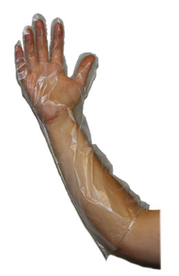 22` Embossed Copolymer Glove