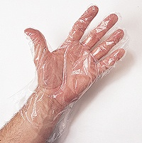 Embossed Plastic Gloves