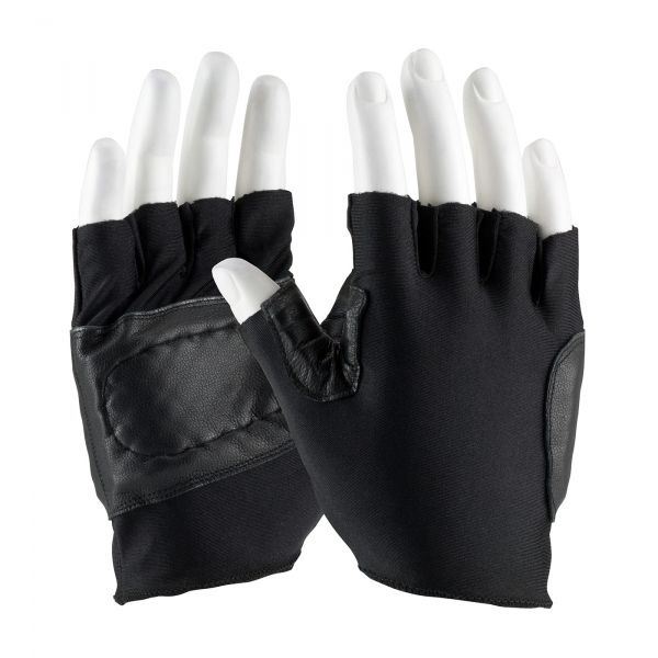PIP Maximum Safety® Anti-Vibration Half Finger Shock Absorbing Gloves #122-AV71
