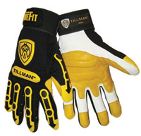 Mechanics Impact Gloves, 1494 Tillman™ TrueFit™ Impact Protective Work Gloves w/ Knuckle Pads