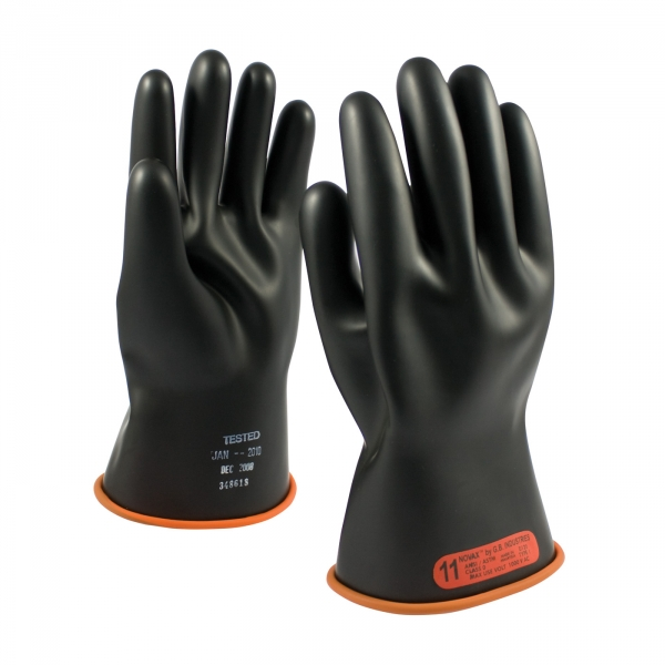 #155-0-11 PIP® NOVAX® Class 0 Rubber Insulating 11` Glove w/ Straight Cuff