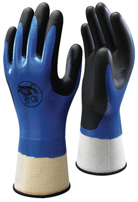377 Showa® Foam Grip 377 Fully Dipped Protective Gloves