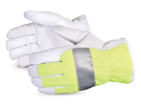 #378GHVTL Superior Glove® Endura® Thinsulate™-Lined Hi-Viz Driver Gloves