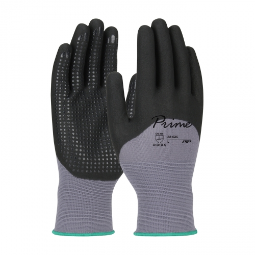 PIP® Prime™ Micro Dot 3/4 Coated Nylon Knit Touchscreen Gloves