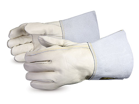 Superior Glove® Endura® Cowgrain Split-leather Gloves #399SC4