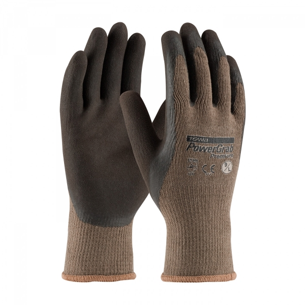 PIP® PowerGrab™ Premium Seamless Knit Cotton / Polyester Glove with Latex Coated MicroFinish Grip on Palm & Fingers #39-C1500