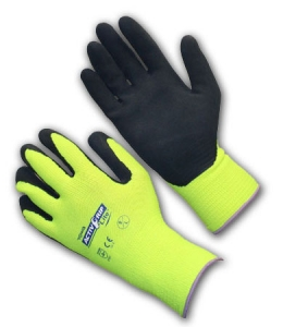 Latex Coated Knit Glove with MicroFinish Grip