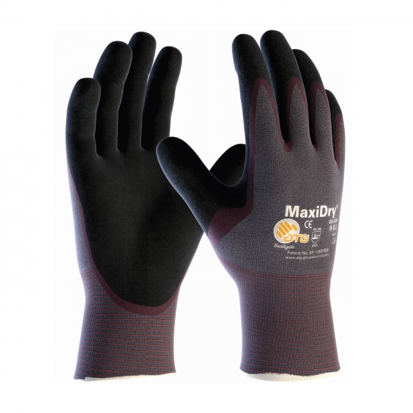 56-424 PIP® MaxiDry® Ultra Lightweight Nitrile Glove w/ Dipped Palm