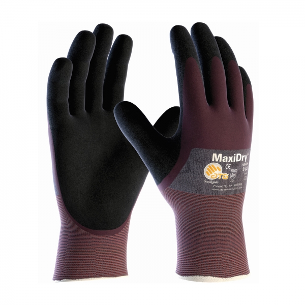56-425 PIP MaxiDry® Ultra Lightweight Nitrile Glove w/ 3/4 Dipped Palm