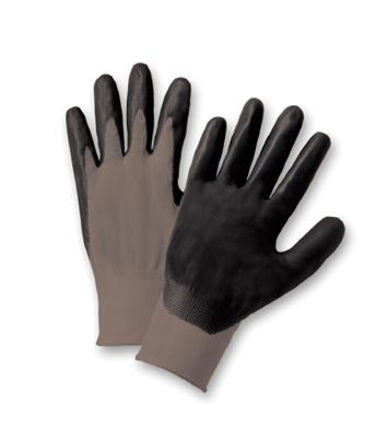 Economy Foam Nitrile Palm Coated Gloves