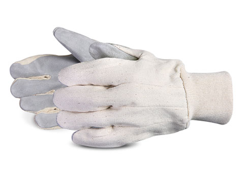 Superior Glove® Endura® Premium Leather Palm Knitwrist Clute Gloves #650