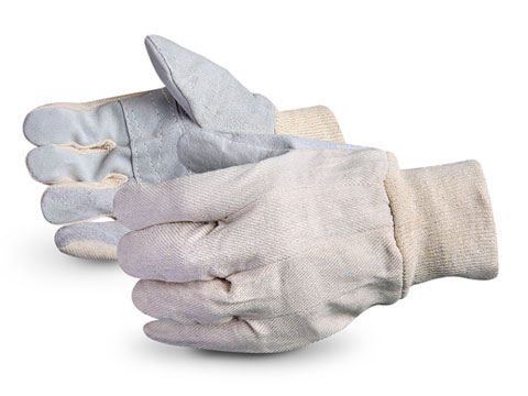 Superior Glove® Economy Version Leather Face Patch-palm Gloves #650Q
