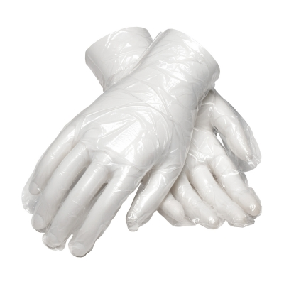 PIP Ambi-dex® Food Grade Disposable Polyethylene Glove with Silky Finish Grip