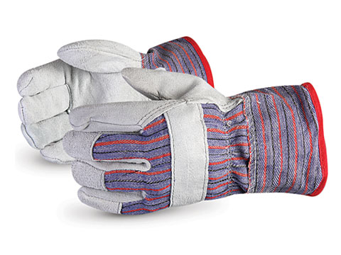 #66BFL Superior Glove® Endura® Cotton-Fleece Lined Winter Split Fitters Glove