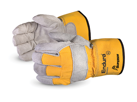 #66BRBOA Superior Glove® Endura® Split-Leather, Fully Lined Fitters Glove