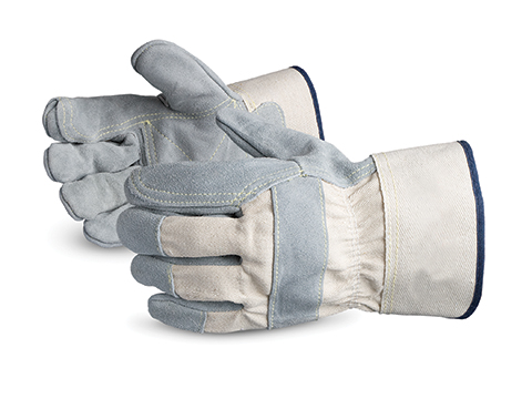 Superior® Glove Crewmate® Premium Side-Split Fitter with Double-Leather Palm #69BRR