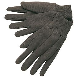 Economy 10-oz Brown Cotton Jersey Work Gloves