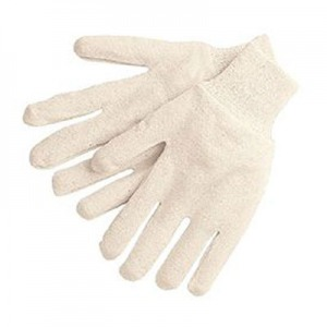 Economy Reversible 7-oz White Jersey Work Gloves