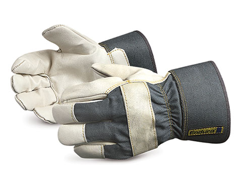 #76BFL Superior Glove® Endura® Cowgrain Winter Fitters Gloves