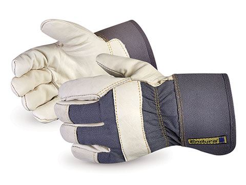 #76BOA Superior Glove® Endura® Cowgrain Winter Lined Fitters Gloves