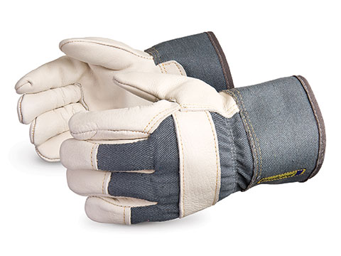 #76BRF Superior Glove® Endura® Cowgrain Winter Fitters Gloves