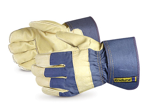 #76PBFTL Superior Glove® Endura® Thinsulate™ Winter Pigskin Gloves