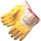 Economy Rubber Coated Canvas Work Gloves