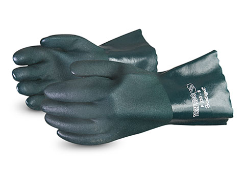 #F230 Superior Glove® Chemstop™ Premium 12` Green PVC Glove