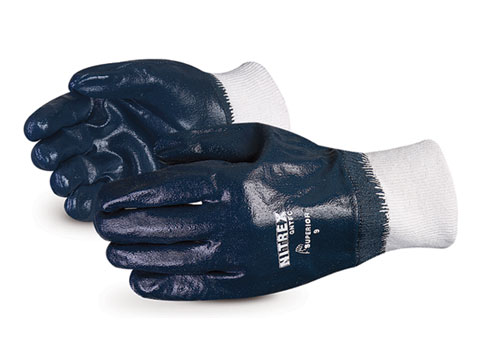 #GNTFC Superior® Glove Chemstop™ Medium-Duty Fully Nitrile-Coated Gloves