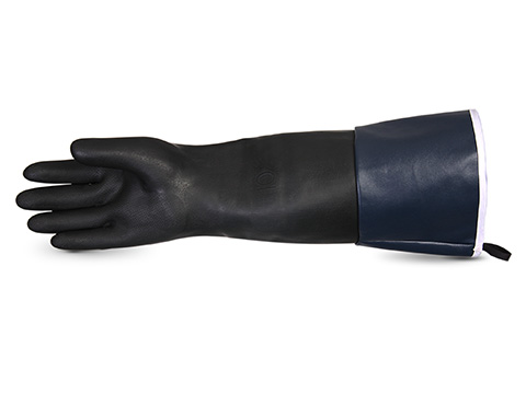#NE250TRC Superior Glove® Chemstop™ Terry-Lined Heavy-Duty Neoprene Glove w/ Extended Cuff