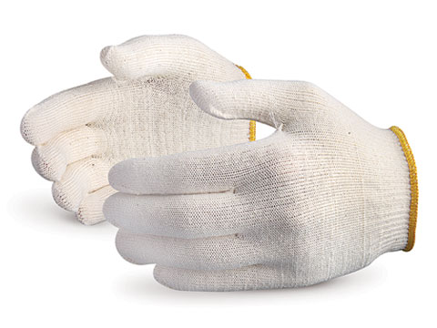 #S13CL Superior Glove® Sure Knit™ Lightweight Cotton-Lycra-Spandex Blend Gloves