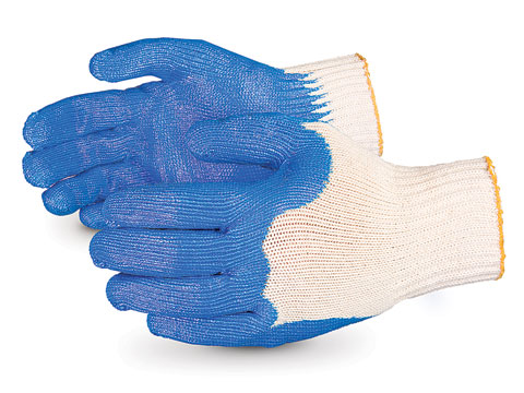 #S7NT Superior® Glove Bull Dog NT 7-gauge Cotton Knit with Nitrile Palms