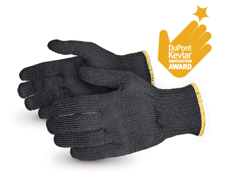 #SBKG Superior® Glove Contender™ Heavyweight Cut-Resistant Black Kevlar® Glove