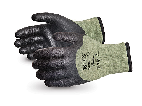#SCXTAPVC Superior® Glove Emerald CX® Cut-Resistant Kevlar®/Steel Winter Glove with PVC Palm