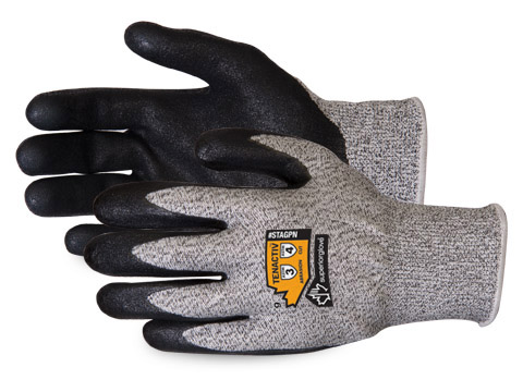 #STAGPN - Superior Glove® TenActiv™ High Cut Resistant Micropore Grip Gloves