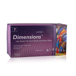 Dimensions™ Fitted Powder-Free Latex Exam Glove