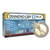 DGP350 Microflex® Diamond Grip Plus™ Disposable Powder-Free Latex Exam Gloves