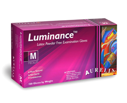 Luminance™ Powder Free Latex Exam Gloves