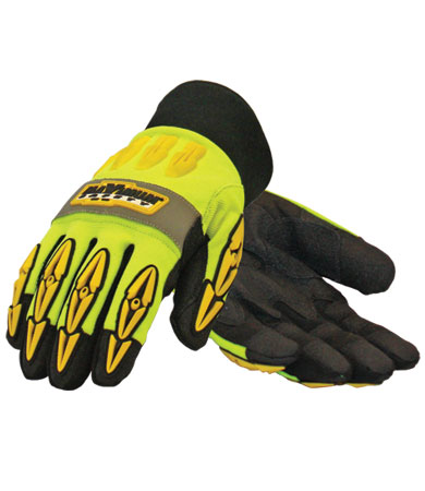 PIP® Maximum Safety® Mad Max™ Thermo Rigger Gloves w/ Hipora Liner