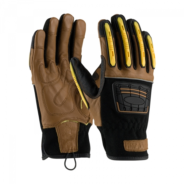 PIP Maximum Safety® Journeyman Kevlar® Lined TPR Gloves #120-4150
