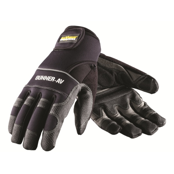 #120-4400 PIP® Maximum Safety Gunner-AV Workman's Gloves