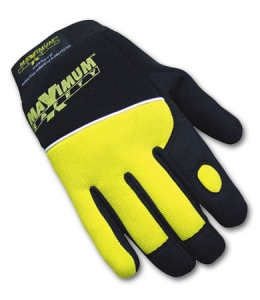120MX2830 PIP Maximum Safety™ Hi-Viz Yellow Original Mechanics Protective Work Gloves